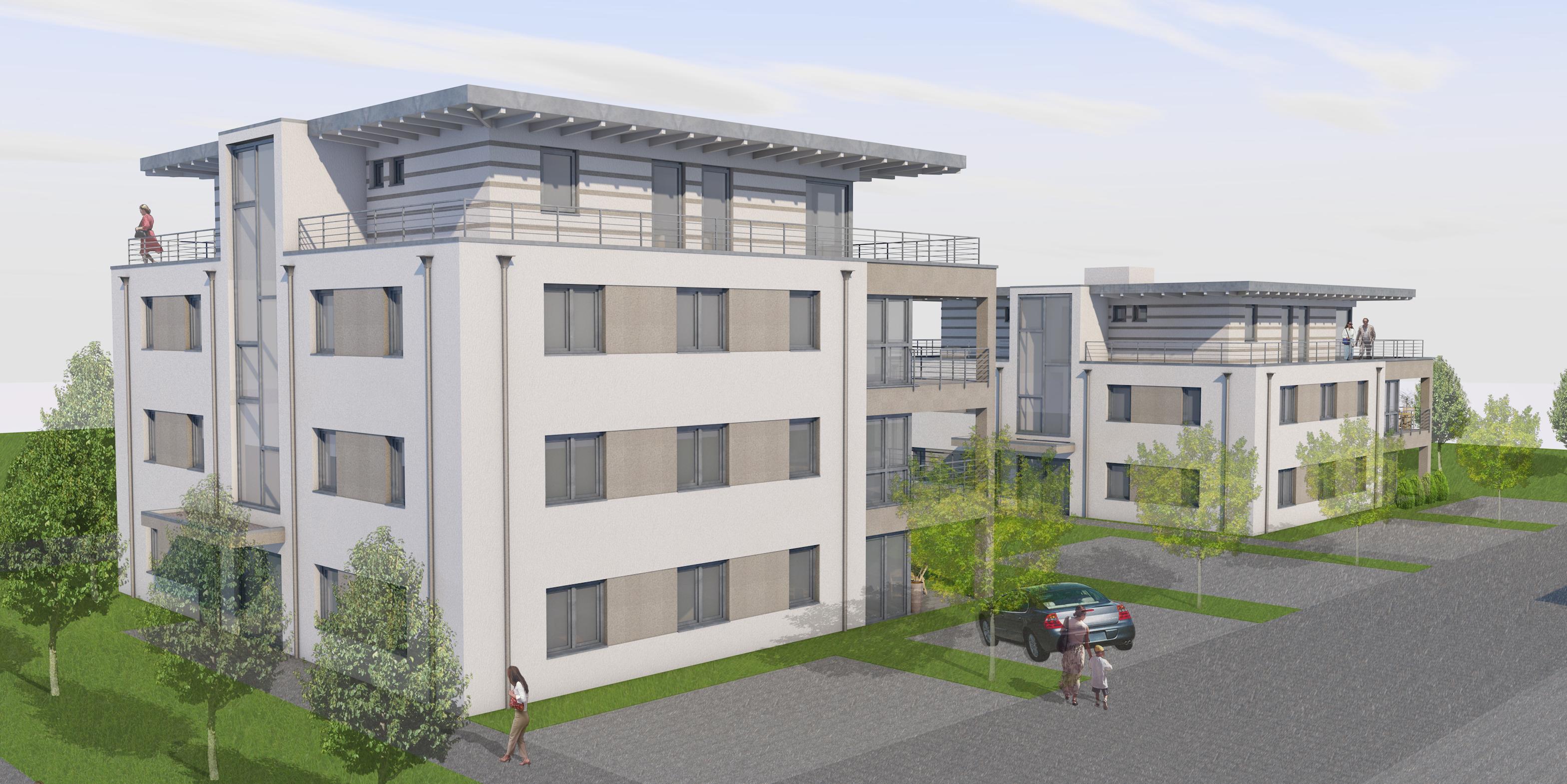 OLIVER SCHRÖGEL Architekturbüro - Neubau Mehrfamilienhaus Bad Kreuznach